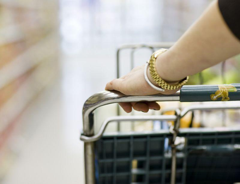 """<p><b>4. The Cart Handle</b></p><p>This one's an oldie but goodie! After all, we've all heard that cart handles are filthy. According to Gerba, the evidence doesn't lie — in some areas of the country, 70% to 80% have E. coli on them. His easy fix? """"It's good to use a disinfecting wipe on the grocery cart handles and seat,"""" he says. Bonus: lots of stores have a handy dispenser located adjacent to the carts. Grab a few extras for your trip through the aisles — you may need them.</p><p><i>(Photo: Getty)</i><br></p>"""