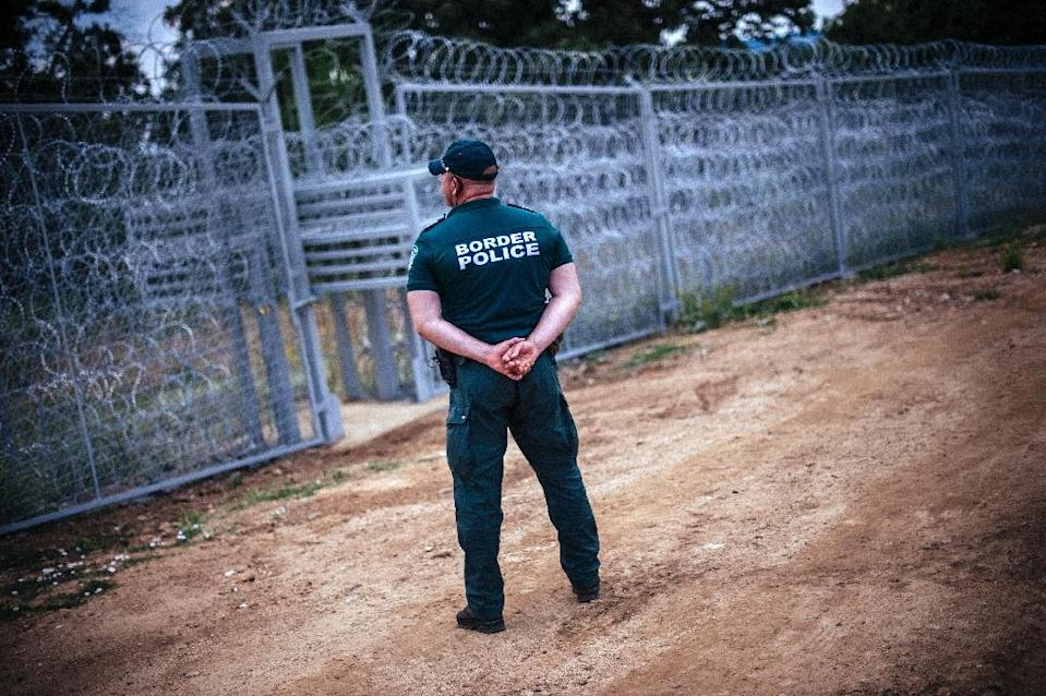 In a move to buttress its porous 260-kilometre border with Turkey, Bulgaria built a razor wire fence along part of it and dispatched some 2,000 border guards, police and army to guard the rest (AFP Photo/Dimitar Dilkoff)