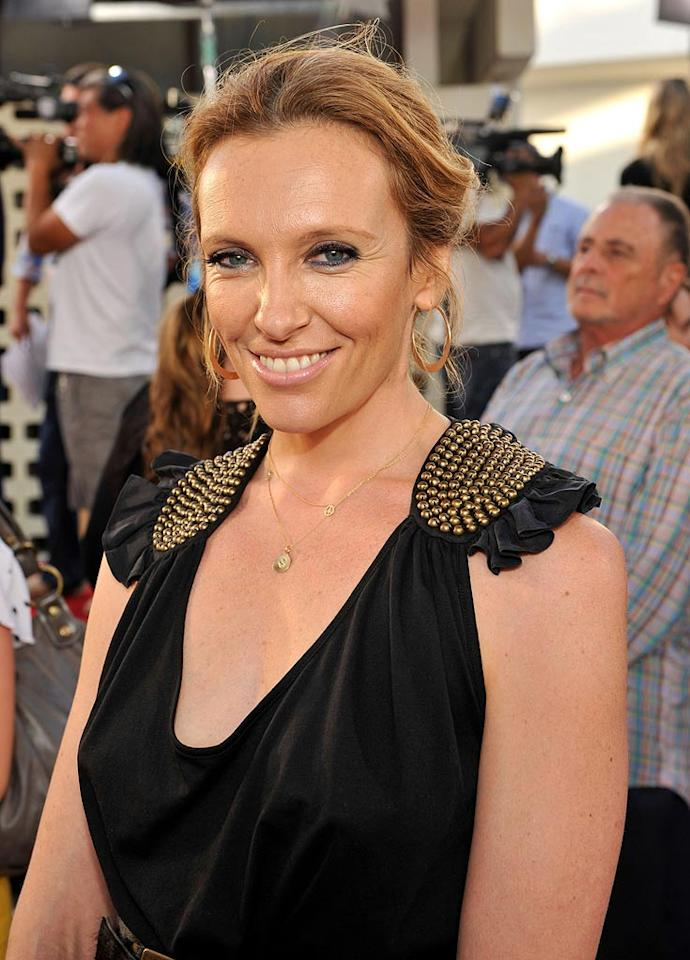 """<a href=""""http://movies.yahoo.com/movie/contributor/1800019669"""">Toni Collette</a> at the Los Angeles premiere of <a href=""""http://movies.yahoo.com/movie/1810041785/info"""">Funny People</a> - 07/20/2009"""