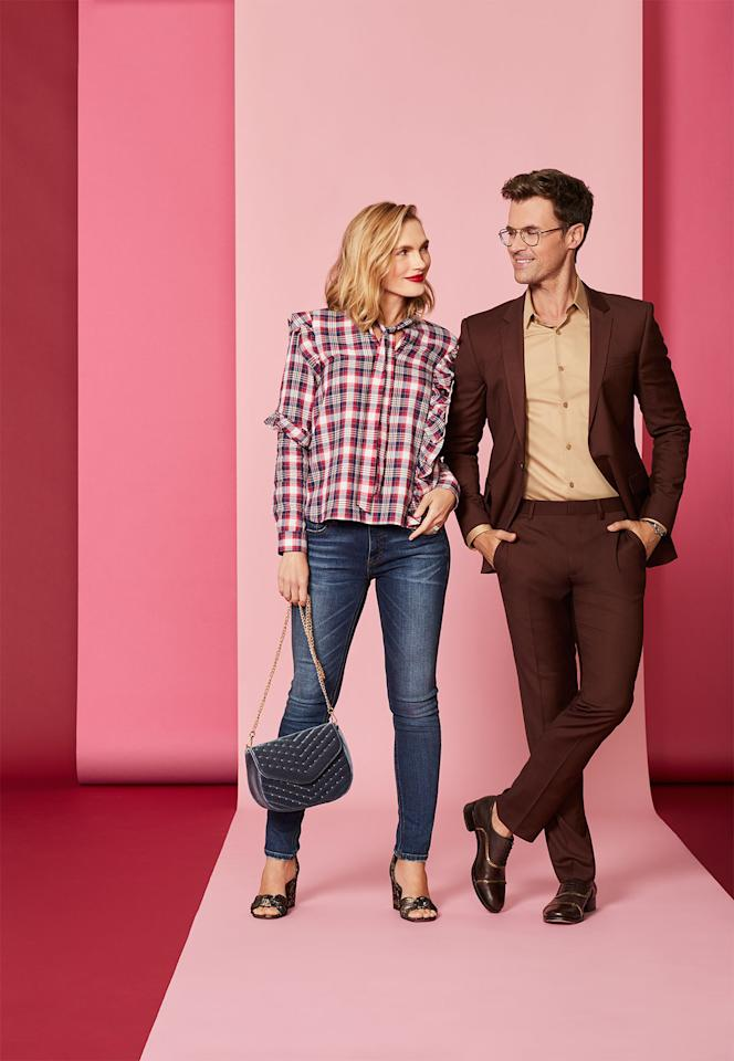 <p>You've spent many a Saturday lazing around in it, but now this classic print has a whole new attitude. Let our style guy Brad Goreski show you how to make it work for you.</p>