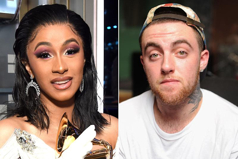 Cardi B says she's sharing her Grammy with Mac Miller