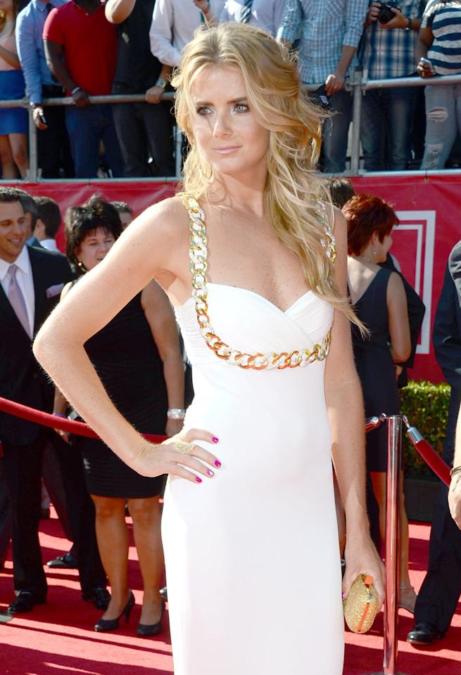 Tennis player Daniela Hantuchova arrives at the 2012 ESPY Awards at Nokia Theatre L.A. Live on July 11, 2012 in Los Angeles, California.  (Photo by Frazer Harrison/Getty Images)