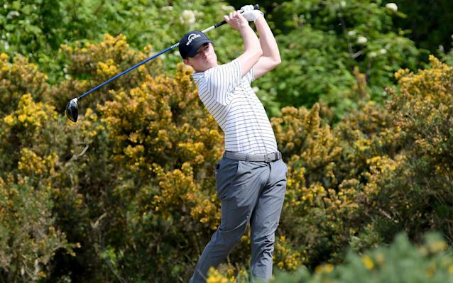 Matt Fitzpatrick of England during a practice round at Hallamshire Golf Club - Getty Images