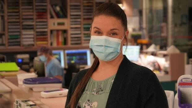 Most of the patients in the ICU with severe COVID-19 at Cité-de-la-Santé hospital in Laval have a variant of the virus, said Joanie Bolduc-Dionne, the ICU's head nurse.