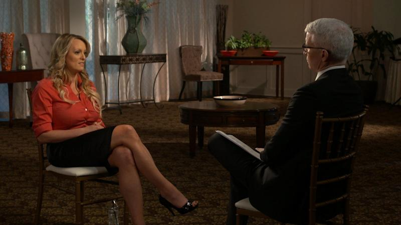 """Stormy Daniels' """"60 Minutes"""" interview"""