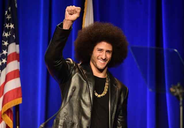 No team has called Colin Kaepernick for a workout. His attorney says that NFL owners are trying to appease President Donald Trump by freezing Kaepernick out of the league. (Getty Images)