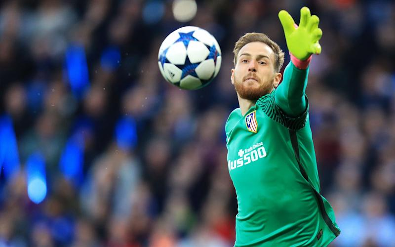 Jan Oblak - Credit: REX FEATURES