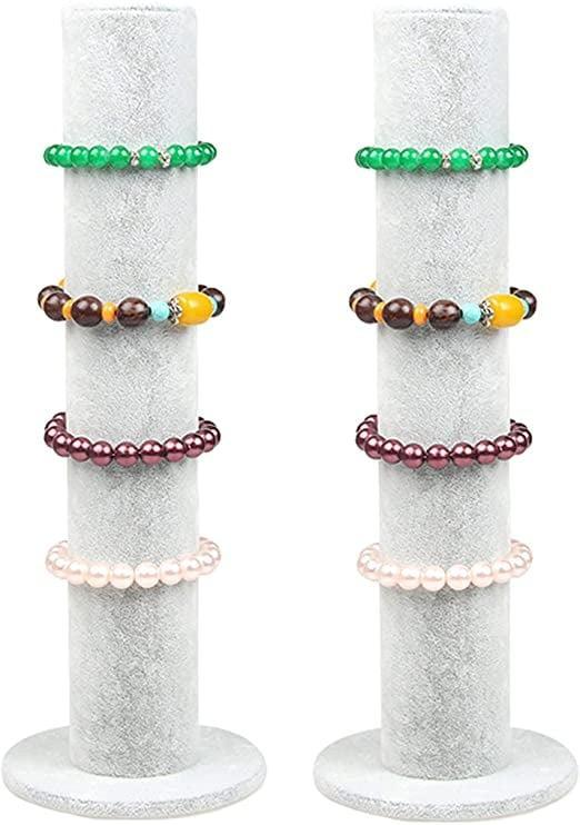 <p>Keep your scrunchies organized with this <span>Bocar Velvet Vertical Tower</span> ($15).</p>