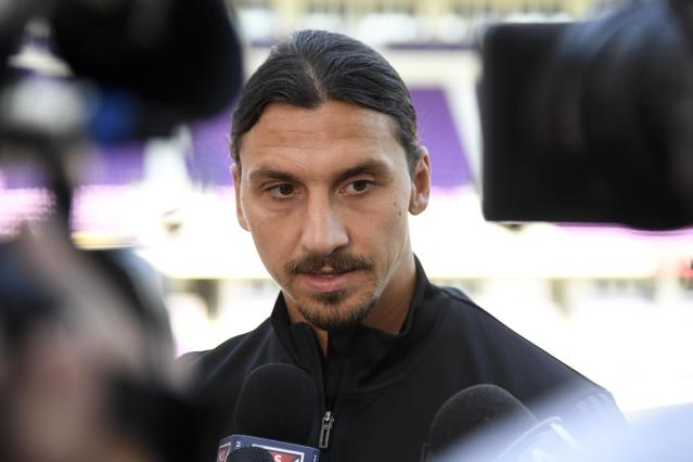 Zlatan Ibrahimovic, seen here being interviewed in Orlando ahead of the MLS All-Star Game, has made plenty of headlines since joining the Los Angeles Galaxy. (Reuters)