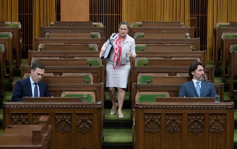 Parliament prorogued, confidence coming on throne speech, says Trudeau