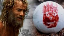 <p>Tom Hanks sort of feels like a surrogate dad whenever he's on screen, and in Cast Away, he's playing a FedEx executive—not a profession that makes this list more than once.</p><p>But what he does after his plane goes down on a totally deserted island is a portrait of physical and mental toughness. He removes his own diseased tooth, spears fish, engineers a raft for his escape, and most notably, says goodbye to his beloved volleyball, Wilson.</p>