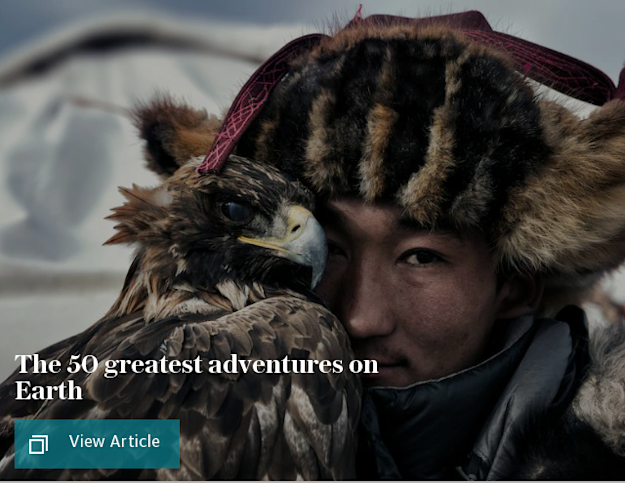 The 50 greatest adventures on Earth