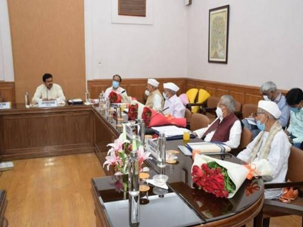 A visual of the meeting held today in Delhi.