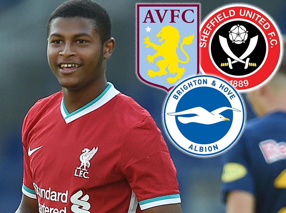 Rhian Brewster is set to depart Anfield this month (Liverpool FC via Getty Images)