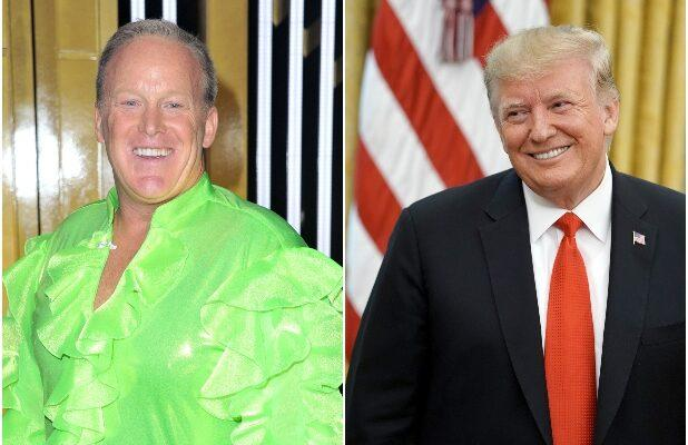 Trump Urges Votes for 'Good Guy' Sean Spicer on 'Dancing With the Stars'