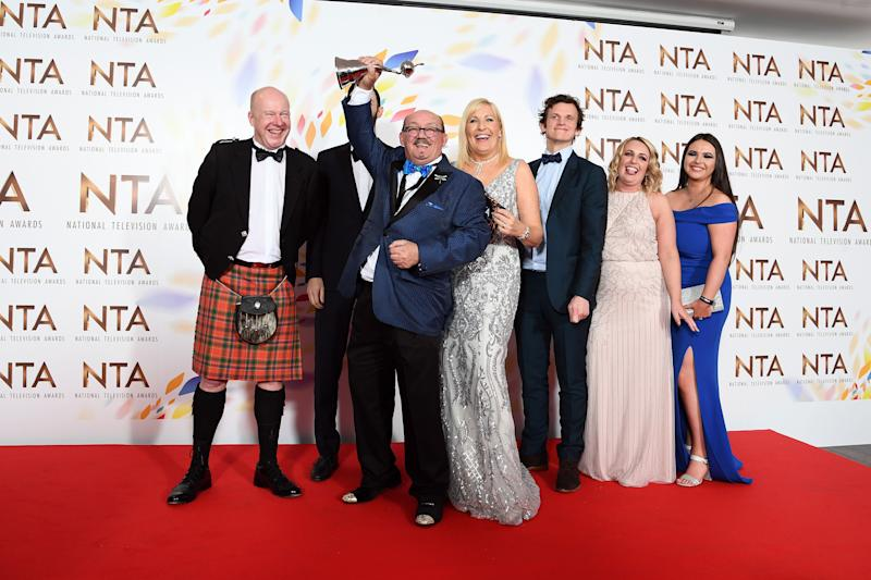Mrs Brown's Boys won Best Comedy at the NTAs (Photo: Gareth Cattermole via Getty Images)