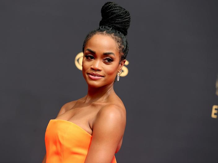 Rachel Lindsay at the 73rd Primetime Emmy Awards (Rich Fury/Getty Images)