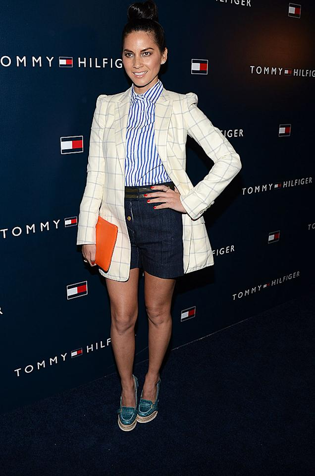 WEST HOLLYWOOD, CA - FEBRUARY 13:  Actress Olivia Munn arrives at the Tommy Hilfiger West Coast Flagship Grand Opening Event at Tommy Hilfiger West Hollywood on February 13, 2013 in West Hollywood, California.  (Photo by Amanda Edwards/WireImage)