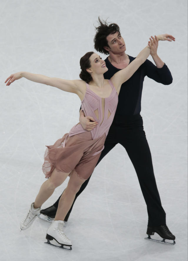 <p>Virtue joked in a interview that she and Scott Moir dated initially at the beginning of the partnership, but only for a couple of months. </p>