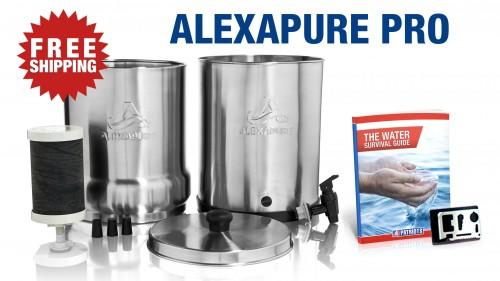 availability of clean drinking water an issue alexapure pro was ...