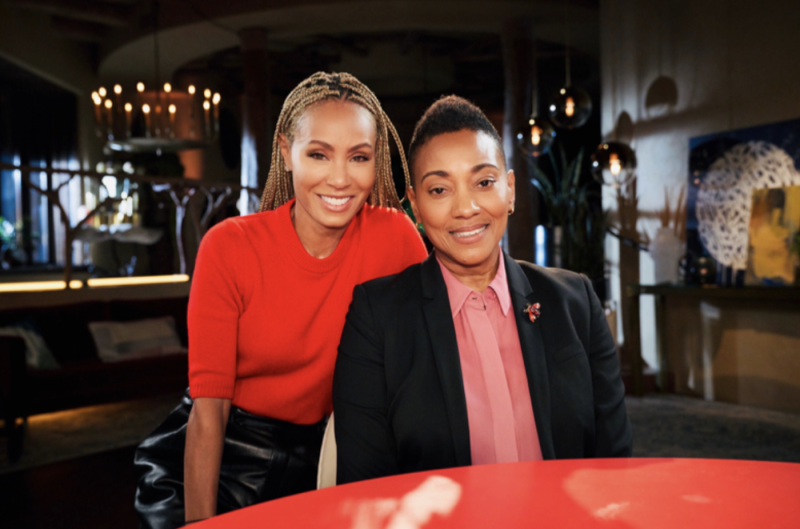 Robyn Crawford was interviewed by Jada Pinkett Smith on Monday's Red Table Talk. (Photo: Michael Becker/Red Table Talk/Facebook Watch)