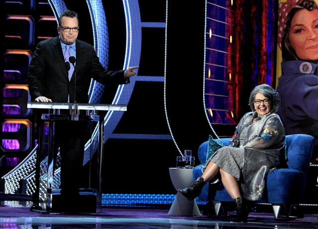 Tom Arnold Slams Ex-Wife Roseanne Barr for Tweeting 'Nazi Salute' At Parkland Survivor