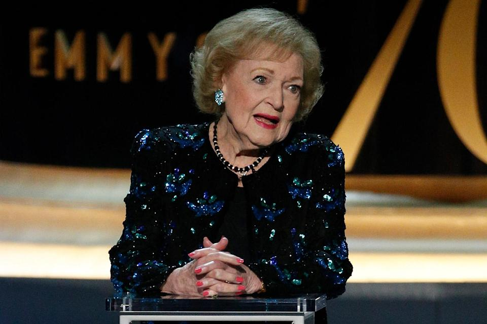 <p>In 2018, White stopped by the Emmy Awards to prove that she's still just hilarious at 96. Three years later, at 99, White continues to both inspire us and make us laugh. </p>