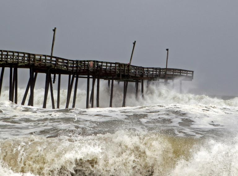 Cape Hatteras, on North Carolina's Outer Banks, was hit hard when Hurricane Dorian struck in September 2019