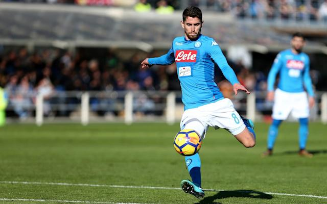 Manchester City have finally agreed a deal with Napoli for Jorginho worth an initial £43.1 million after weeks of protracted negotiations with the Italian club. The Premier League champions are hopeful of completing the transfer in the coming days and it is thought the fee could rise up to £48.3 million with add ons. Napoli had been holding out for around £50 million for the Brazil-born Italy midfielder but City were reluctant to go that high, despite Pep Guardiola's eagerness to sign the 26-year-old. City switched their attention to Jorginho after backing out of a move for Brazil midfielder Fred, who has agreed to join Manchester United, and Guardiola is confident he will provide quality competition for Fernandinho in the defensive midfield role following the departure of Yaya Toure. Napoli are already on the verge of signing Fabian Ruiz from Real Betis after meeting the £26.4 million release clause in the Spain Under-21 midfielder's contract. Ruiz flew into Naples yesterday (Wednesday) ahead of a medical and has agreed a five-year deal. City are also signing highly rated 17-year-old midfielder, Adria Bernabe, from Barcelona.
