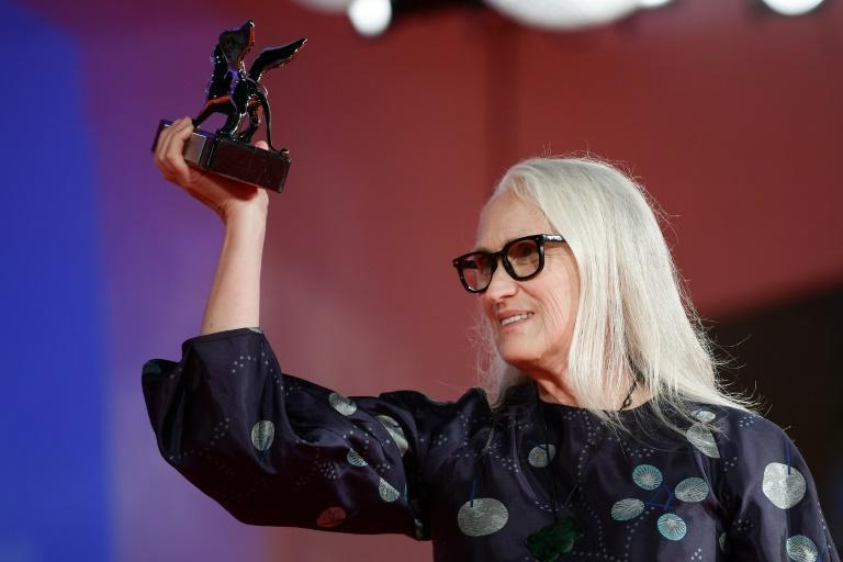 Campion has already picked up the top prize at Cannes (AFP/Filippo MONTEFORTE)