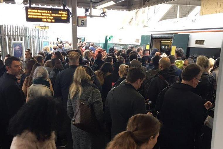 London Overground: Morning commuters faced travel mayhem for the second day