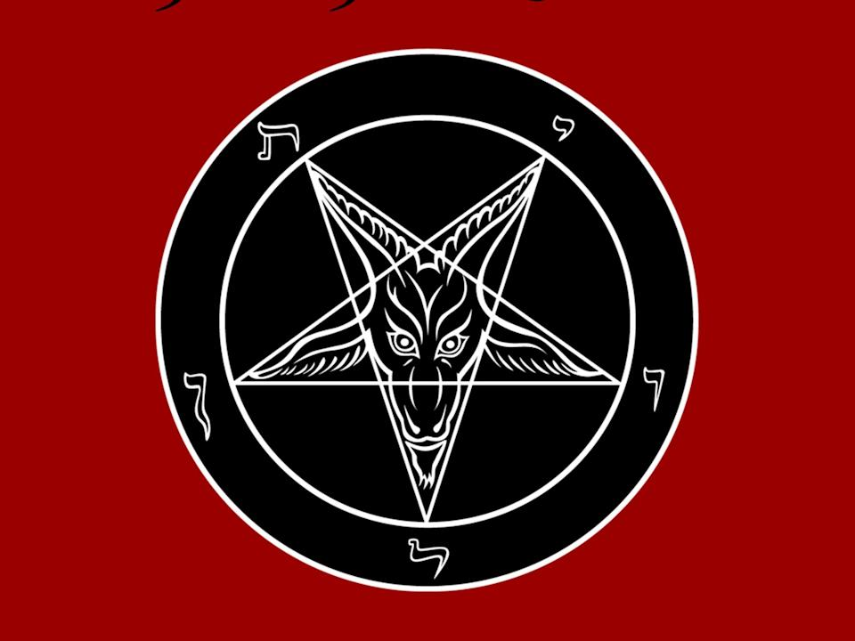 The logo of the Church of Satan, which was founded in 1966