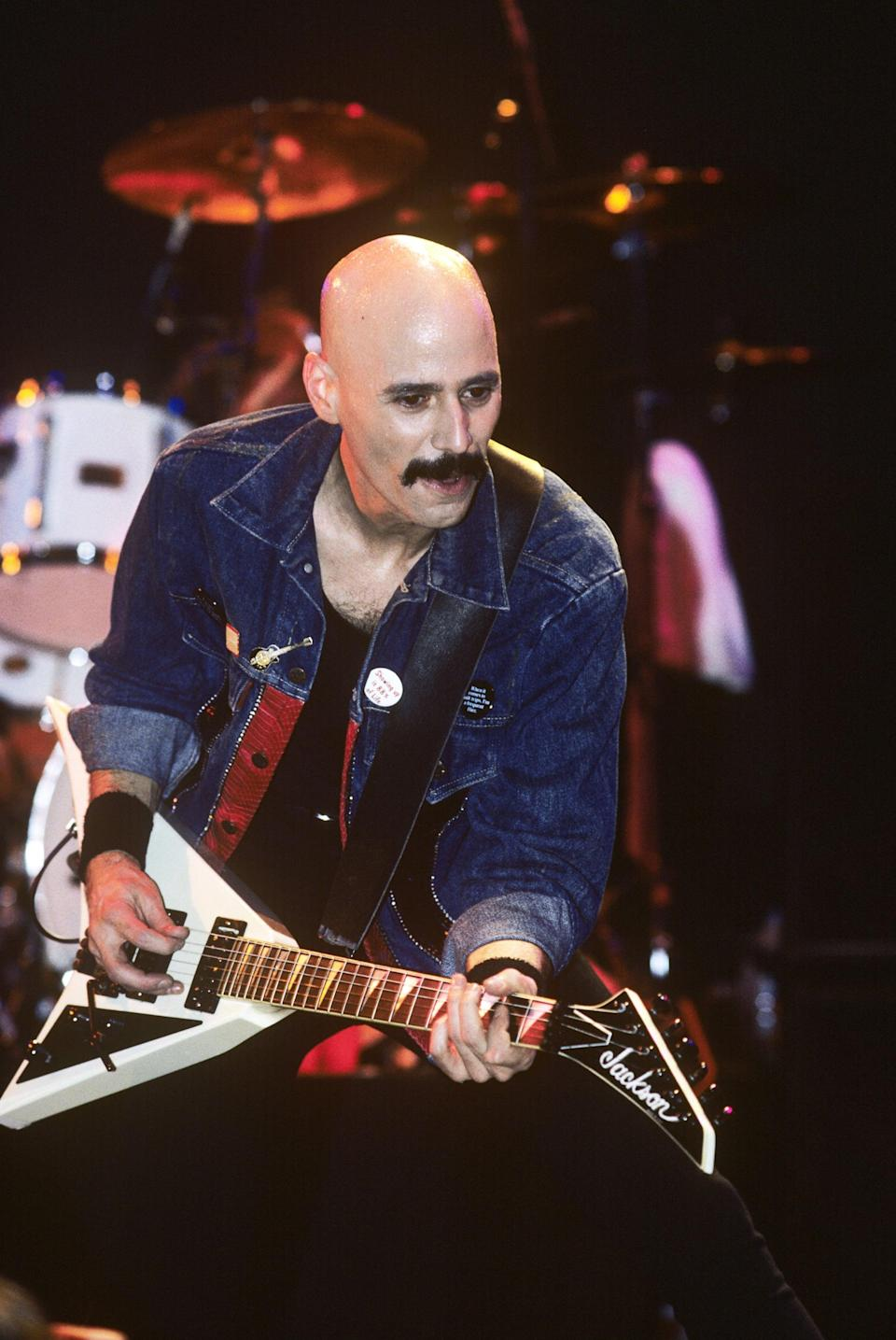 """<p>The guitarist, who played with Lou Reed, Kiss, and Meat Loaf, <span>died at age 70</span> in May. His brother, Bruce, <a href=""""https://www.facebook.com/officialbrucekulick/photos/a.171648970871/10157364576265872/?type=3&theater"""" class=""""link rapid-noclick-resp"""" rel=""""nofollow noopener"""" target=""""_blank"""" data-ylk=""""slk:confirmed the news in an emotional Facebook post"""">confirmed the news in an emotional Facebook post</a>. """"I am heartbroken to have to share the news of the passing of my brother Bob Kulick,"""" Bruce wrote. """"His love of music, and his talent as a musician and producer should always be celebrated. I know he is at peace now, with my parents, playing his guitar as loud as possible. Please respect the Kulick Family's privacy during this very sad time.""""</p>"""