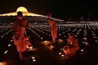 The Dhammakaya sect is a wealthy Buddhist order founded in 1970, which was steered to riches by the septuagenarian monk Phra Dhammachayo