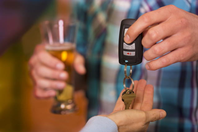 Designated drivers should be celebrated. [Photo: Getty]