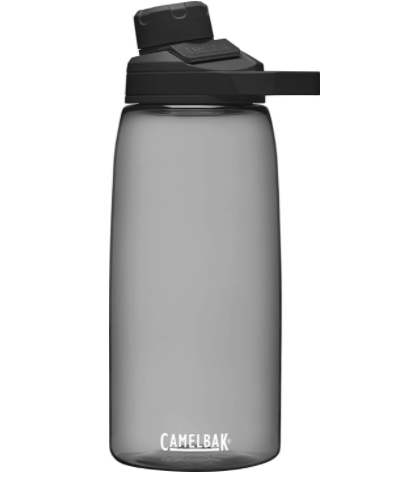 """<p><strong>CamelBak</strong></p><p>amazon.com</p><p><strong>$18.00</strong></p><p><a href=""""https://www.amazon.com/dp/B08QTSVJF3?tag=syn-yahoo-20&ascsubtag=%5Bartid%7C10055.g.27312224%5Bsrc%7Cyahoo-us"""" rel=""""nofollow noopener"""" target=""""_blank"""" data-ylk=""""slk:Shop Now"""" class=""""link rapid-noclick-resp"""">Shop Now</a></p><p>This 32-ounce BPA-free hard plastic bottle is a Lab editor favorite for every activity, especially hiking or long walks. It's<strong> lightweight but holds a good amount of water, and you can loop it onto a bag </strong>with its sturdy plastic handle. Its spout is easier to drink from than wide-mouthed bottles that have a tendency to cause spills and drips, and both the lid and the spout screw on securely so you can toss in your bag without fear of leaks — plus, the cap keeps the spout protected from germs!</p>"""