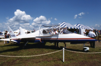 """<p>Aviation circles went crazy for the idea of a civilian jet airplane that could <a href=""""https://www.planeandpilotmag.com/article/bd-10-homebuilt-jet/"""" rel=""""nofollow noopener"""" target=""""_blank"""" data-ylk=""""slk:fly at supersonic speeds"""" class=""""link rapid-noclick-resp"""">fly at supersonic speeds</a>. Jim Bede's dream of a mini-fighter you could build at home turned sour when most of the first examples of the much-touted BD-10 suffered from disturbing design flaws and a number of deadly crashes. </p>"""