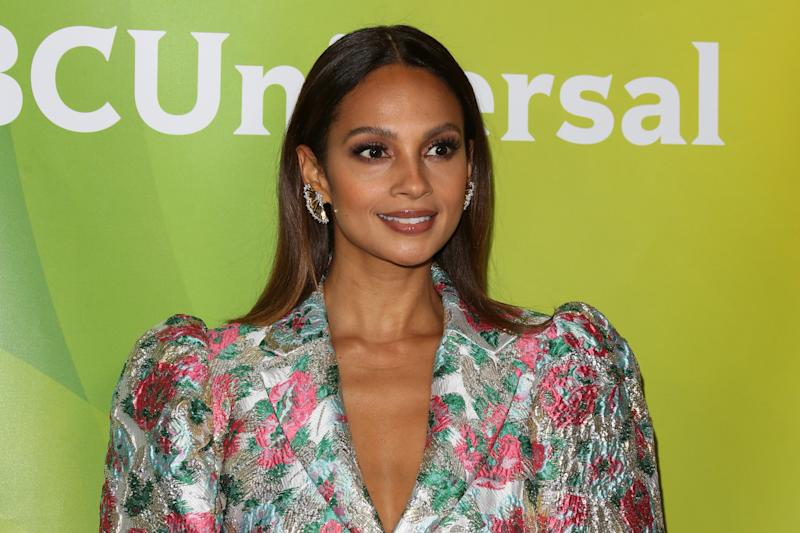 PASADENA, CALIFORNIA - JANUARY 11: Alesha Dixon attends the 2020 NBCUniversal Winter Press Tour at The Langham Huntington, Pasadena on January 11, 2020 in Pasadena, California. (Photo by Paul Archuleta/FilmMagic)
