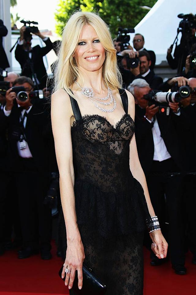 """Model Claudia Schiffer turns 41. Vittorio Zunino Celotto/<a href=""""http://www.gettyimages.com/"""" target=""""new"""">GettyImages.com</a> - May 20, 2011"""