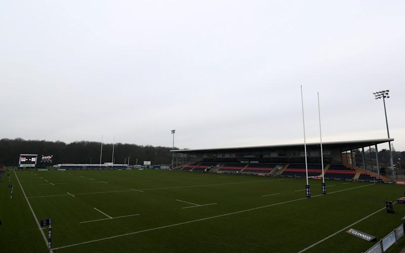 General view inside the stadium prior to the Women's Six Nations match between England and France at Castle Park, Doncaster - Women's community rugby at risk of going backwards after RFU cuts announcement - GETTY IMAGES
