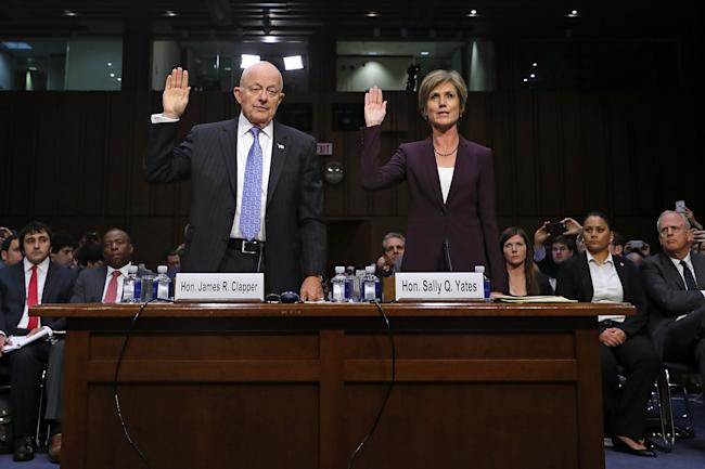 Image result for photos of sally yates and james clapper