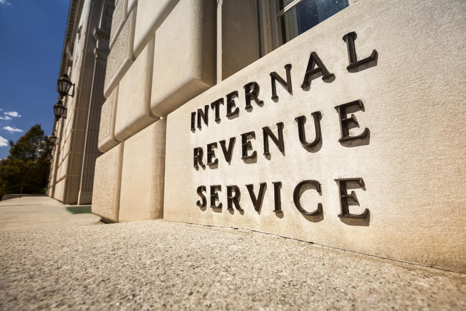 Internal Revenue Service federal building Washington DC USA