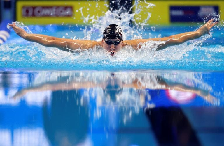 Chase Kalisz nabs the first spot on the team for Tokyo with a victory in the 400m individual medley at the US Olympic swimming trials in Omaha, Nebraska