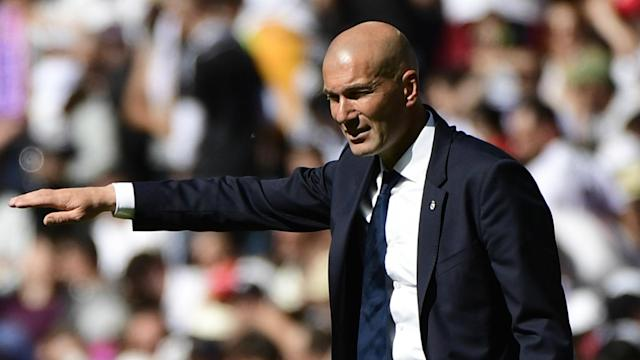 Zinedine Zidane Real Madrid Atletico Madrid La Liga