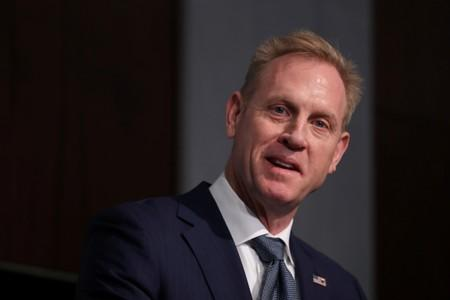 FILE PHOTO: Acting U.S. Defense Secretary Shanahan speaks at CSIS policy forum in Washington