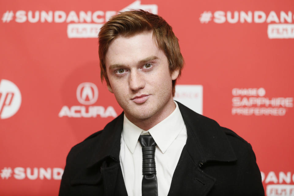 "FILE - Cast member Eddie Hassell poses at the premiere of ""Jobs"" during the 2013 Sundance Film Festival in Park City, Utah on Jan. 25, 2013. Hassell, known for his roles in the NBC show ""Surface"" and the 2010 film ""The Kids Are All Right,"" has died after a shooting in Texas, police said. He was 30. The shooting happened early Sunday in the Dallas suburb of Grand Prairie. Police said in a statement that officers responded to a report of a shooting and found Hassell suffering from gunshot wounds. He was taken to a hospital where he was pronounced dead, police said. (Photo by Danny Moloshok/Invision/AP, File)"