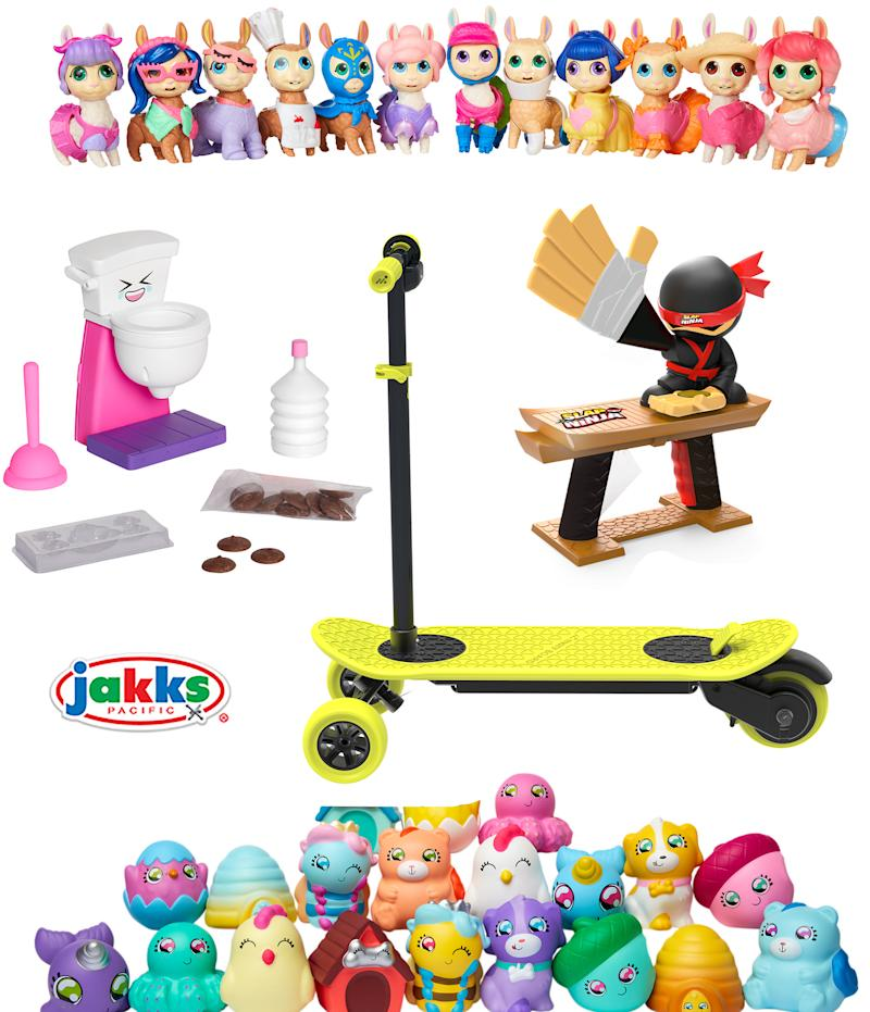 JAKKS Pacific Unveils New Brands, New Products, and Exciting Entertainment Collaborations at New York Toy Fair 2019