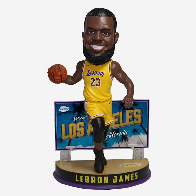 James Lakers Billboard Bobblehead
