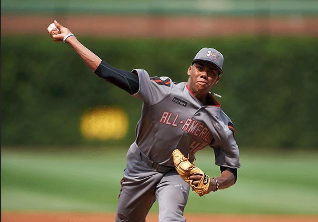 Get used to seeing Hunter Greene. He's going to be around a while. (AP)