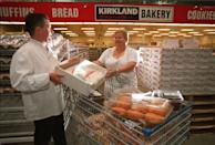 """<p>If you're throwing a party, going to Costco beforehand is a must. The <a href=""""https://www.delish.com/food-news/g22088913/costco-cult-favorites/"""" rel=""""nofollow noopener"""" target=""""_blank"""" data-ylk=""""slk:sheet cake"""" class=""""link rapid-noclick-resp"""">sheet cake</a> is the most famous item in the bakery (if not one of the top items in-store). The generous-sized cake makes for an easy and affordable way to feed a large number of guests—and it's also absolutely delicious. That said, <a href=""""https://www.delish.com/food-news/a32948105/costco-half-sheet-cake-discontinued/"""" rel=""""nofollow noopener"""" target=""""_blank"""" data-ylk=""""slk:some stores may not be selling them right now"""" class=""""link rapid-noclick-resp"""">some stores may not be selling them right now</a>. Be sure to call ahead to your local Costco and see what's up before you head out to grab one.</p>"""